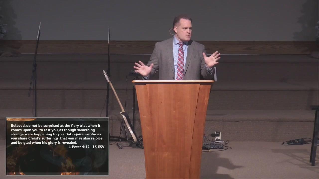 Prepare to Suffer | SermonAudio com