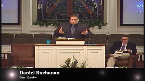 Pastor Daniel Buchanan