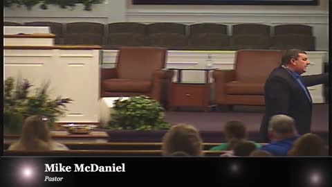 Pastor Mike McDaniel