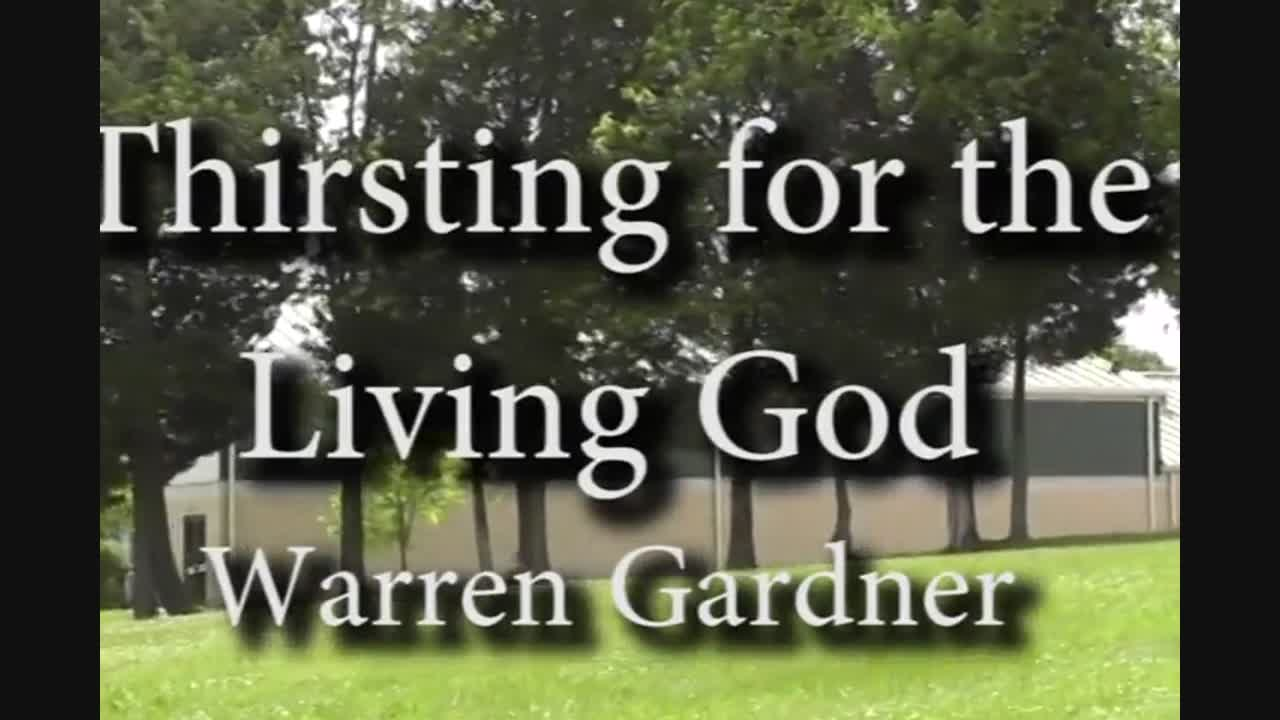 Rev. Warren Gardner