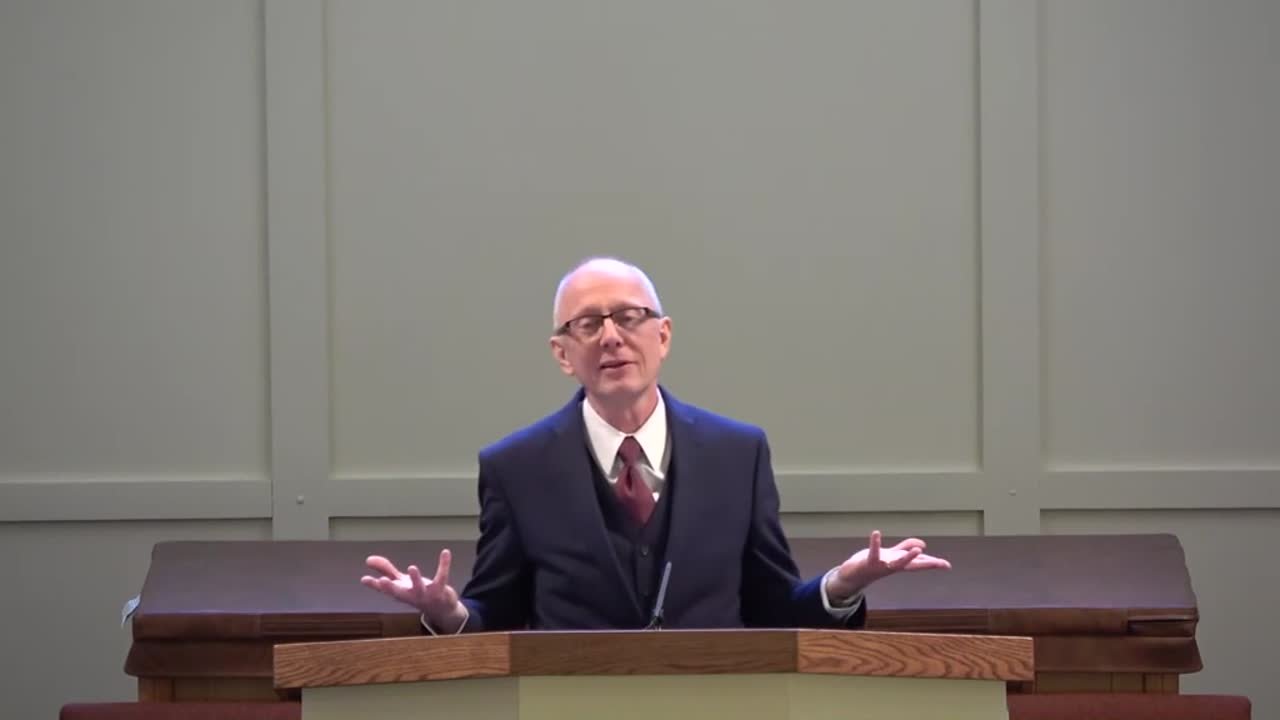 Pastor Jim Domm