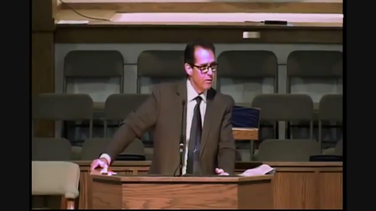 Pastor Tony Scheving