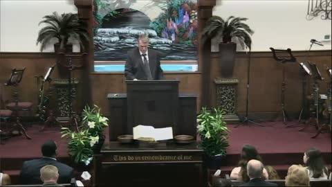 Dr. David Peacock, Pastor