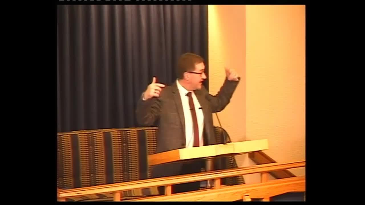 Pastor Alan Dundas