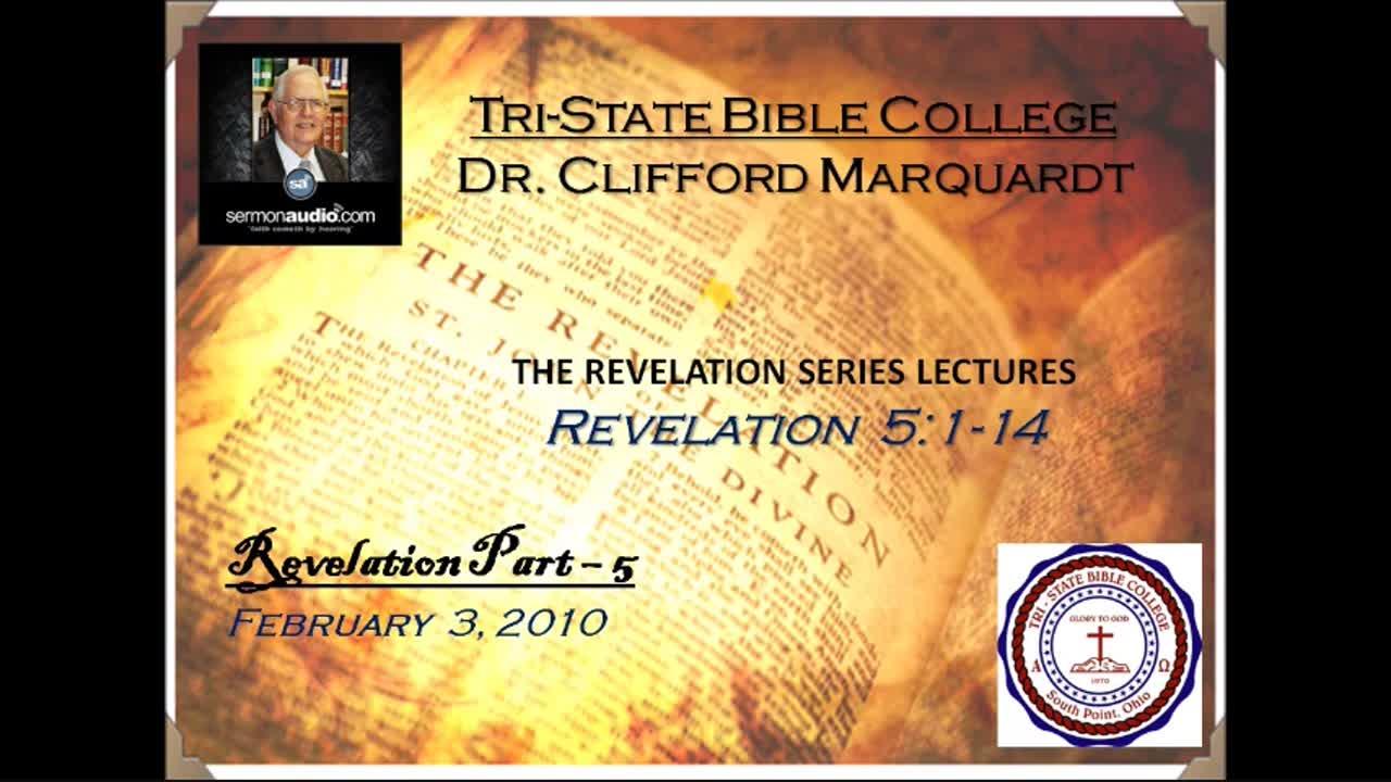 Dr. Clifford Marquardt