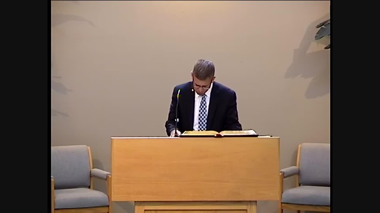 Pastor Joel Overduin