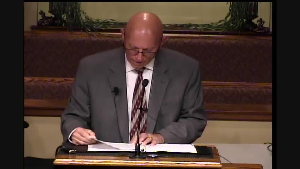 Pastor Ken Rainey