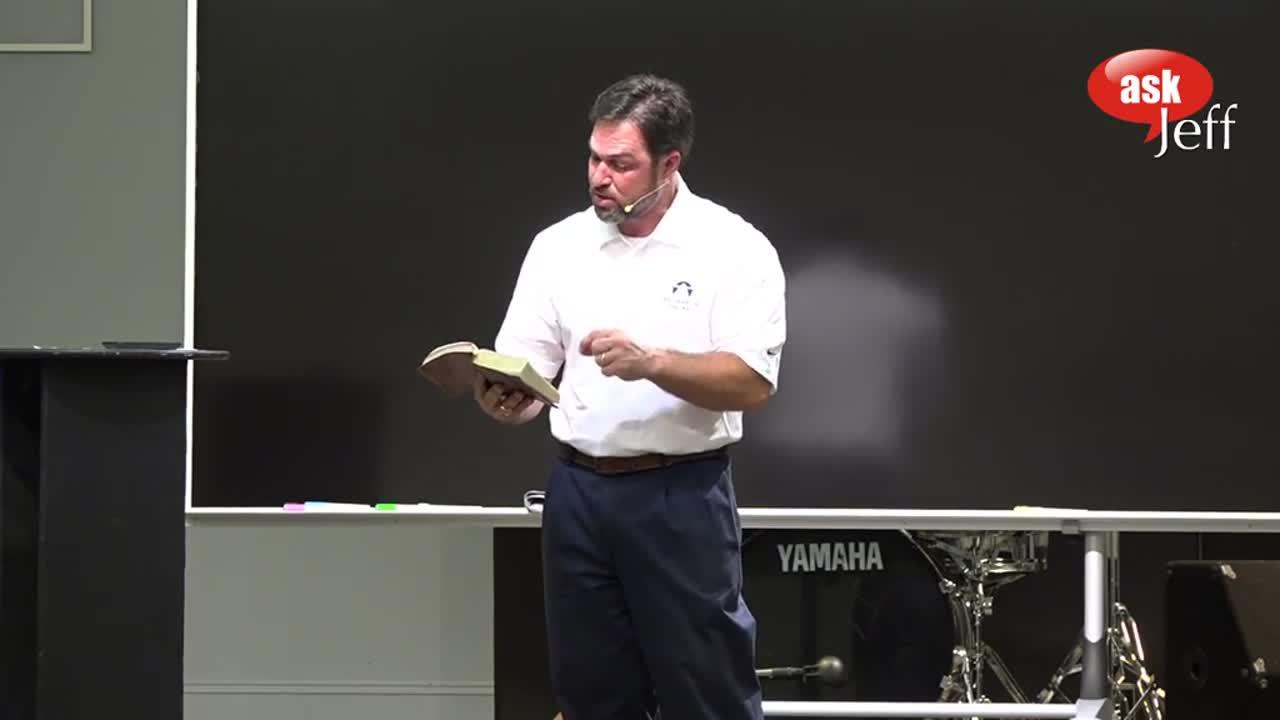 Dr. Jeff Meyers