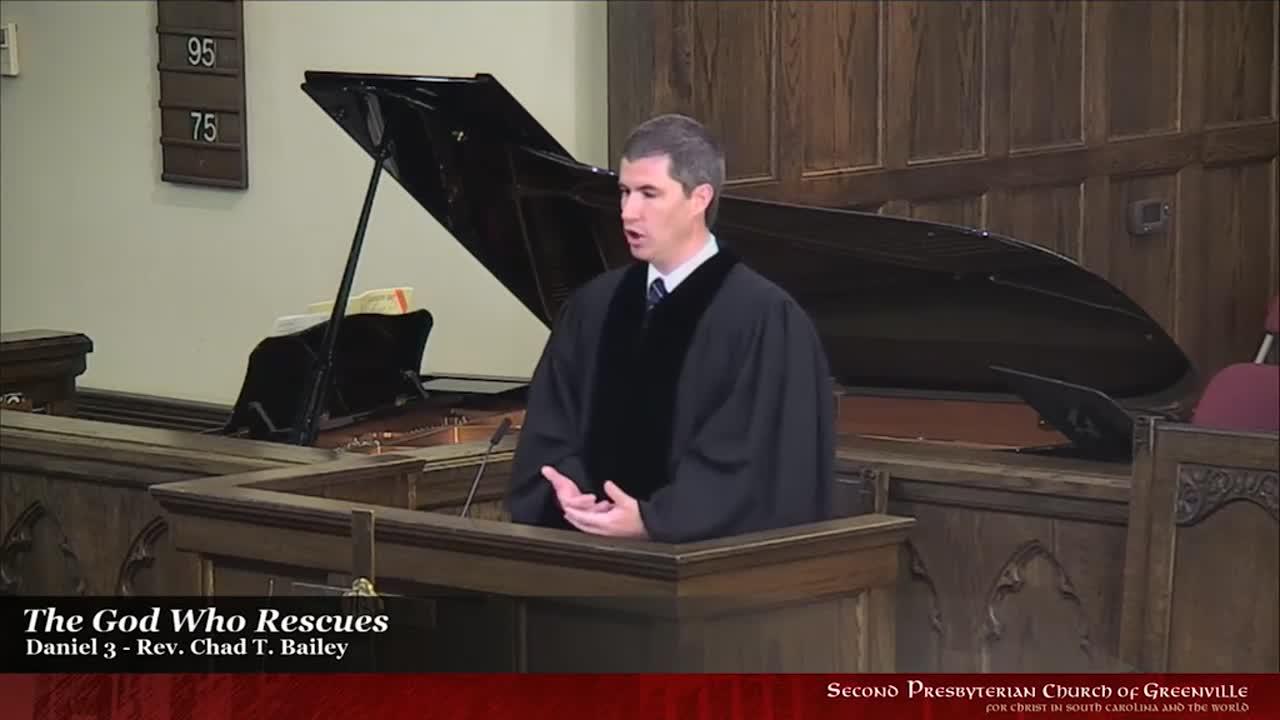 Rev. Chad T. Bailey