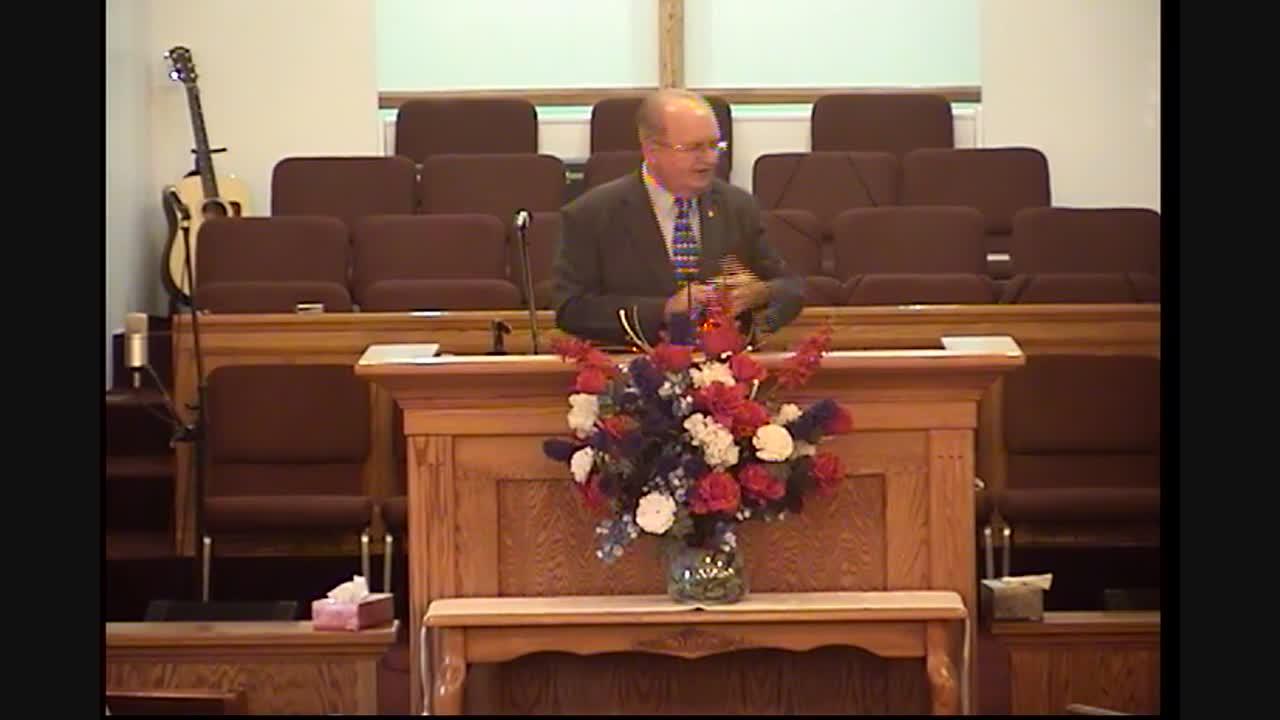 Pastor Jim Gilbert