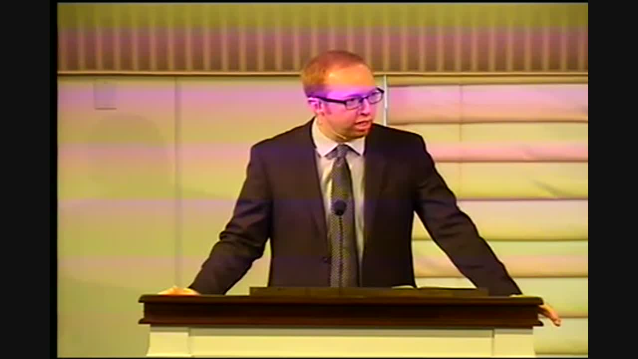 Pastor Daniel Wakefield