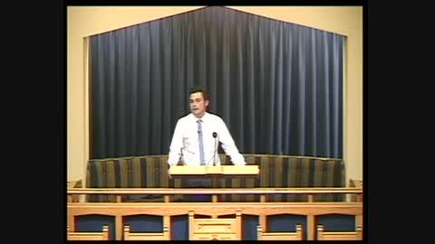 Pastor Stephen Moffitt