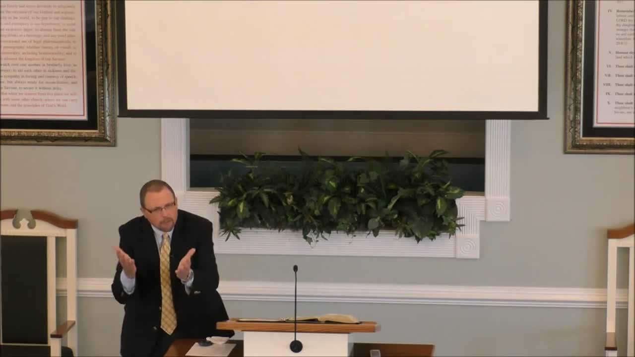 Pastor Tom Horn